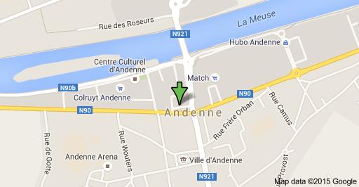 Bureau - Localité-Andenne-Jambes-Namur-Huy-liège-Visé-Rocour-